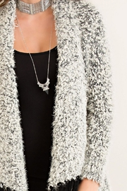 Wild Lilies Jewelry  Fuzzy Fringe Cardigan - Other