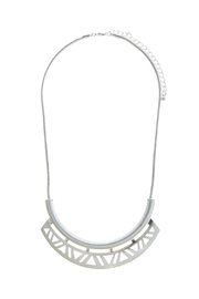 Wild Lilies Jewelry  Geometric Cutout Necklace - Front cropped