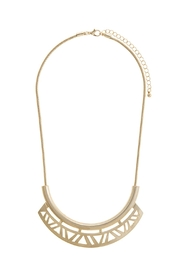 Wild Lilies Jewelry  Geometric Cutout Necklace - Product Mini Image
