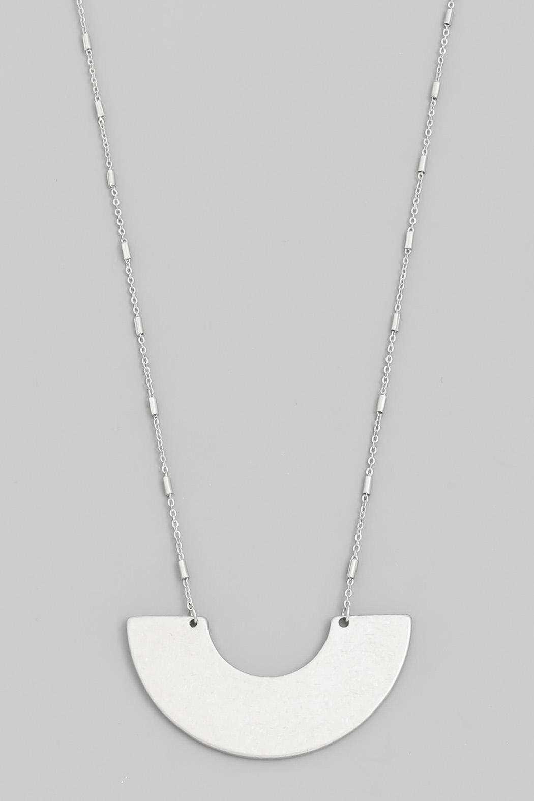 Wild Lilies Jewelry  Geometric Pendant Necklace - Front Full Image