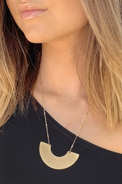 Wild Lilies Jewelry  Geometric Pendant Necklace - Product List Image