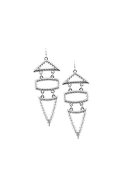 Wild Lilies Jewelry  Geometric Statement Earrings - Product Mini Image