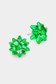 Wild Lilies Jewelry  Gift Bow Studs - Product Mini Image