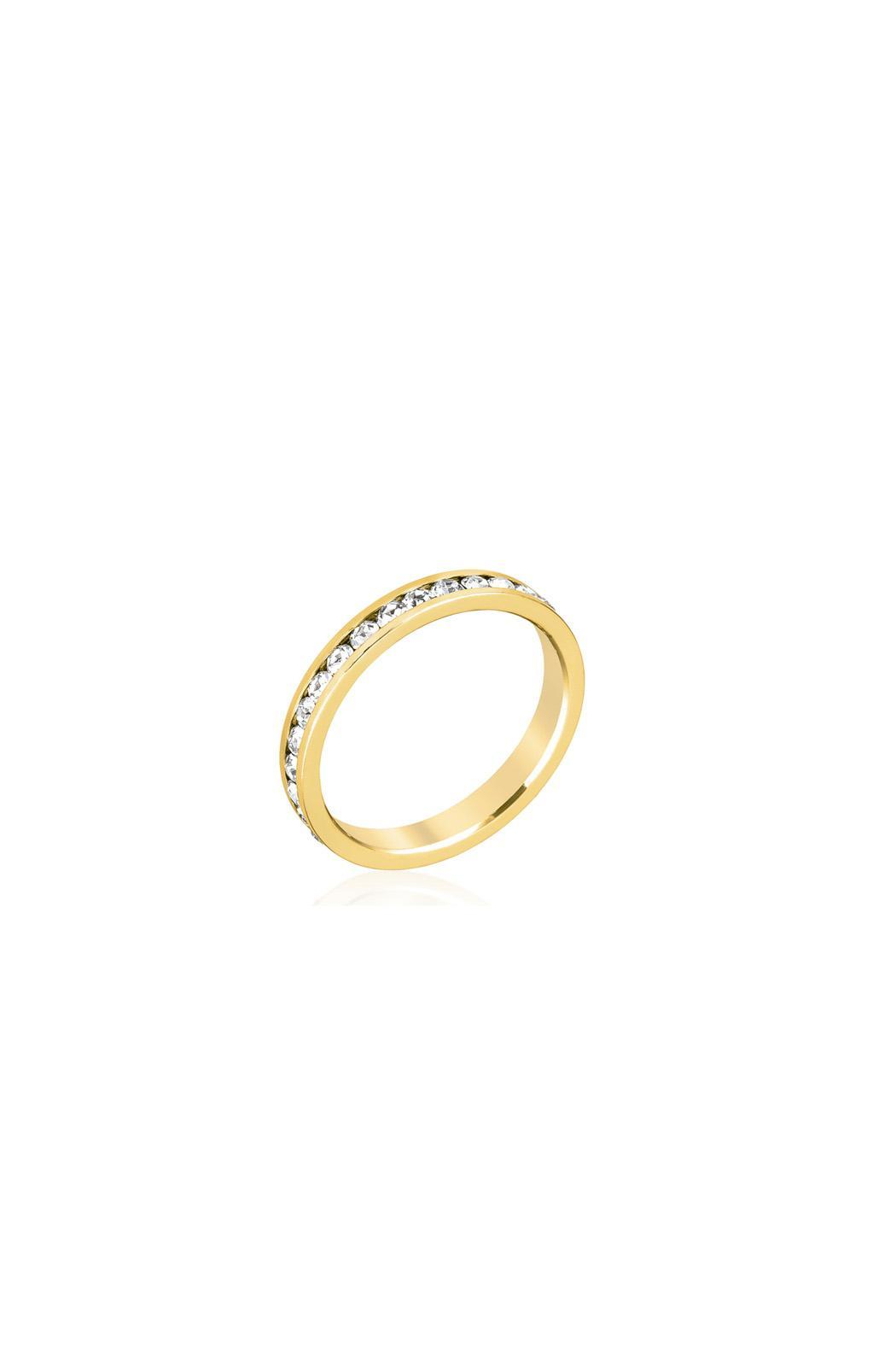 Wild Lilies Jewelry  Gold Band Ring - Main Image
