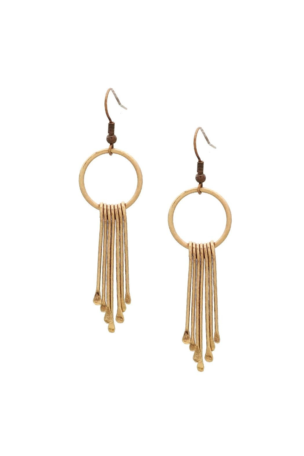 1c0700846af8af Wild Lilies Jewelry Gold Bar Earrings from Philadelphia by Wild ...