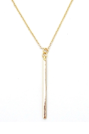 Wild Lilies Jewelry  Gold Bar Necklace - Product Mini Image