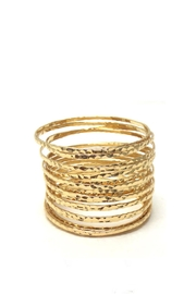 Wild Lilies Jewelry  Gold Coil Bracelet - Product Mini Image