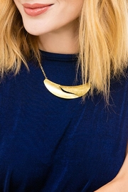 Wild Lilies Jewelry  Gold Collar Necklace - Front cropped