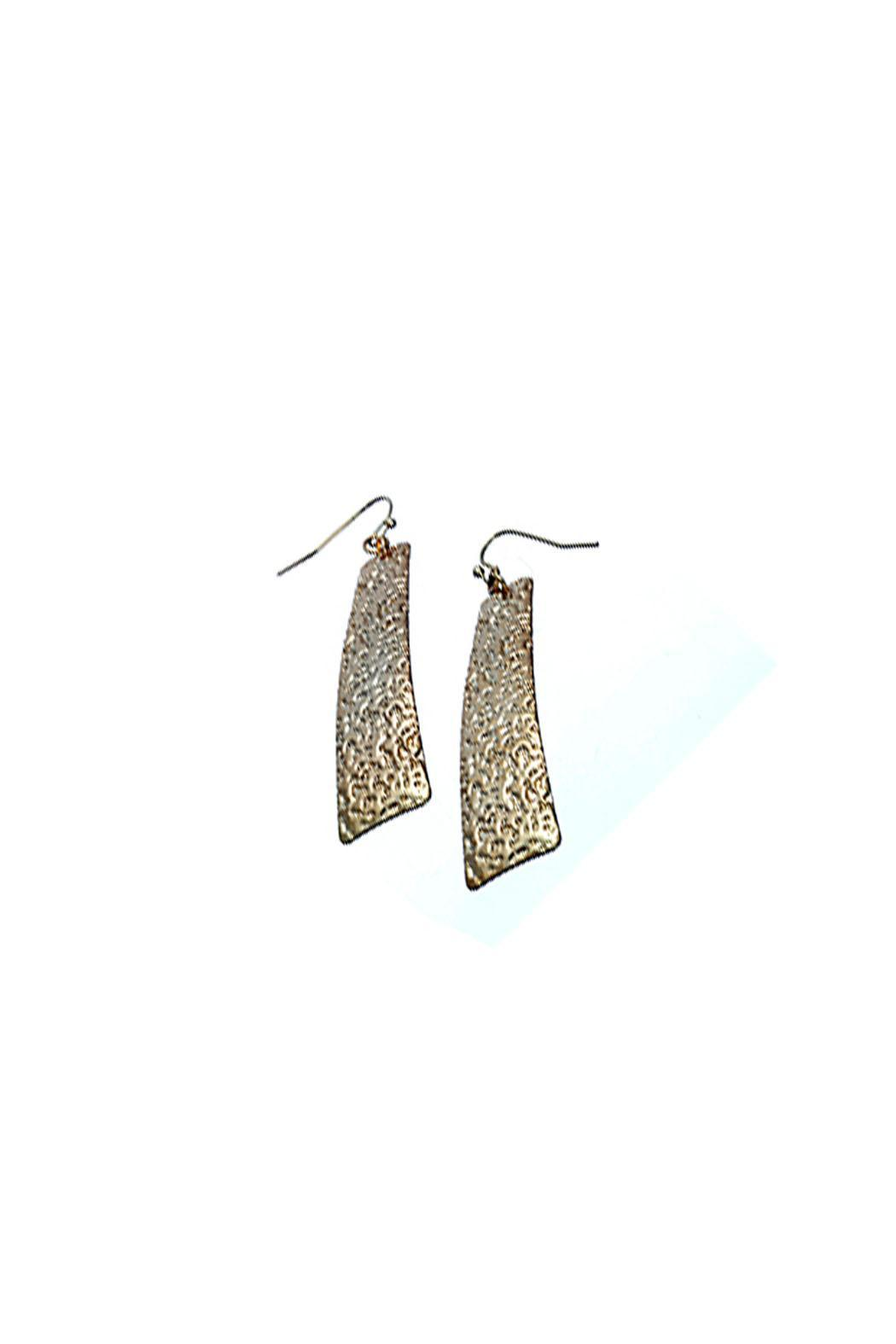 Wild Lilies Jewelry  Veritcal Bar Earrings - Main Image