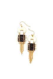 Wild Lilies Jewelry  Gold Fringe Earrings - Front cropped
