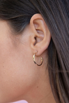 Wild Lilies Jewelry  Gold Hoop Earrings - Product List Image