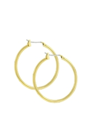 Wild Lilies Jewelry  Gold Hoop Earrings - Product Mini Image