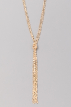 Wild Lilies Jewelry  Gold Knot Necklace - Alternate List Image