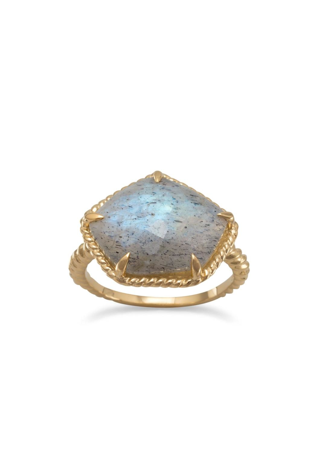 Wild Lilies Jewelry  Gold Labradorite Ring - Main Image