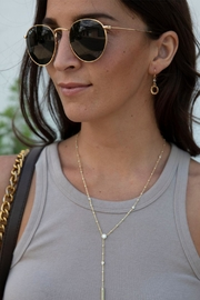Wild Lilies Jewelry  Gold Lariat Necklace - Product Mini Image