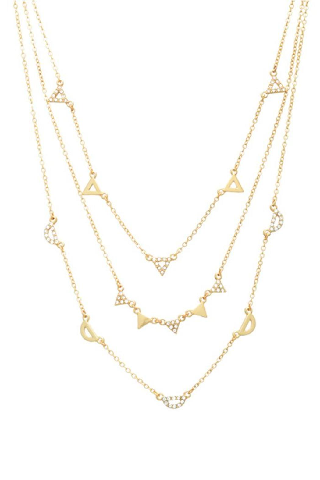 Wild Lilies Jewelry  Gold Layered Necklace - Main Image