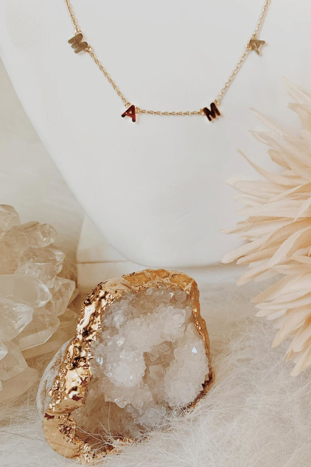 Wild Lilies Jewelry  Gold Mama Necklace - Main Image