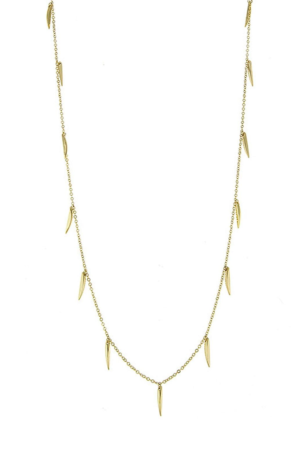 Wild Lilies Jewelry  Gold Spike Necklace - Main Image