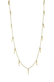 Wild Lilies Jewelry  Gold Spike Necklace - Product Mini Image
