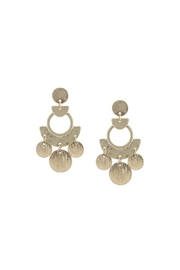 Wild Lilies Jewelry  Gold Statement Earrings - Product Mini Image