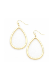 Wild Lilies Jewelry  Gold Teardrop Earrings - Front cropped