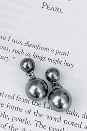 Wild Lilies Jewelry  Gray Pearl Earrings - Product Mini Image