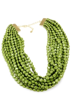 Shoptiques Product: Green Beaded Necklace