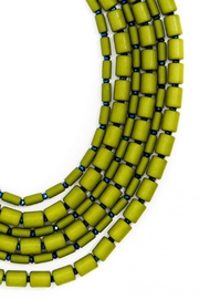 Wild Lilies Jewelry  Green Beaded Necklace - Side cropped