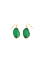 Wild Lilies Jewelry  Green Faceted Earrings - Product Mini Image