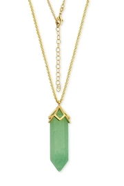 Wild Lilies Jewelry  Green Quartz Necklace - Product Mini Image