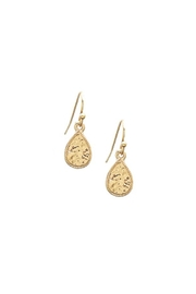 Wild Lilies Jewelry  Hammered Teardrop Earrings - Product Mini Image