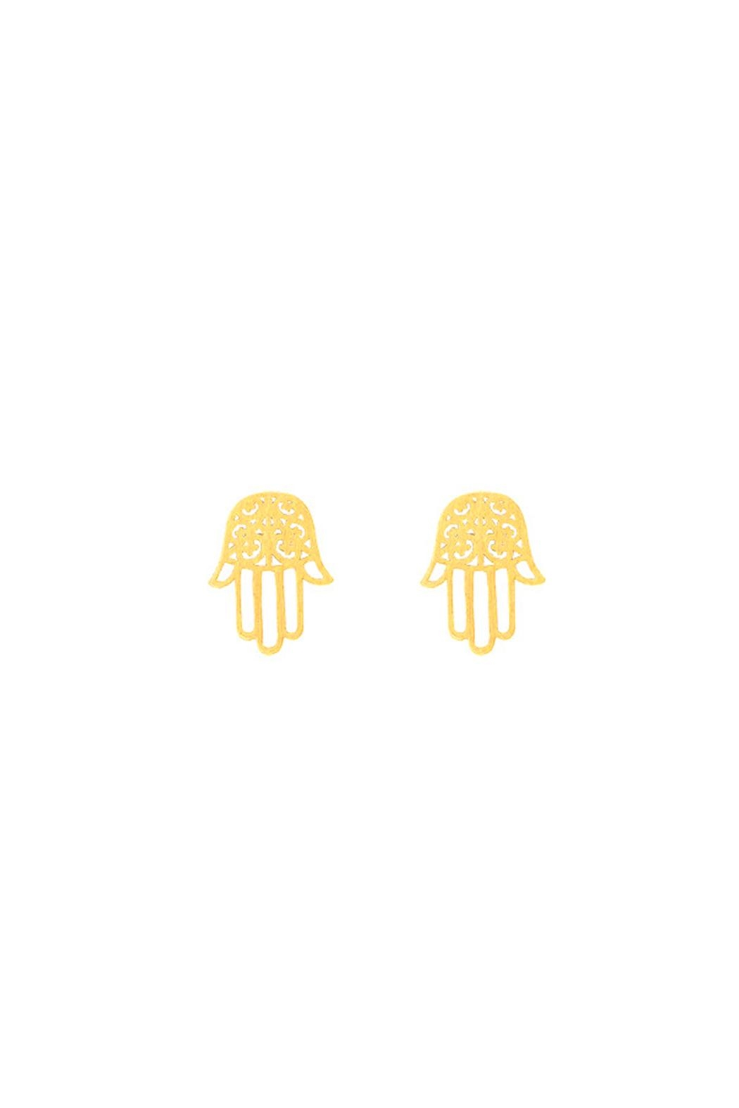 Wild Lilies Jewelry  Hamsa Stud Earrings - Main Image