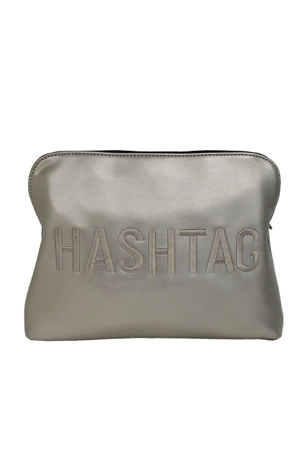 Wild Lilies Jewelry  Hashtag Faux Leather Bag - Main Image