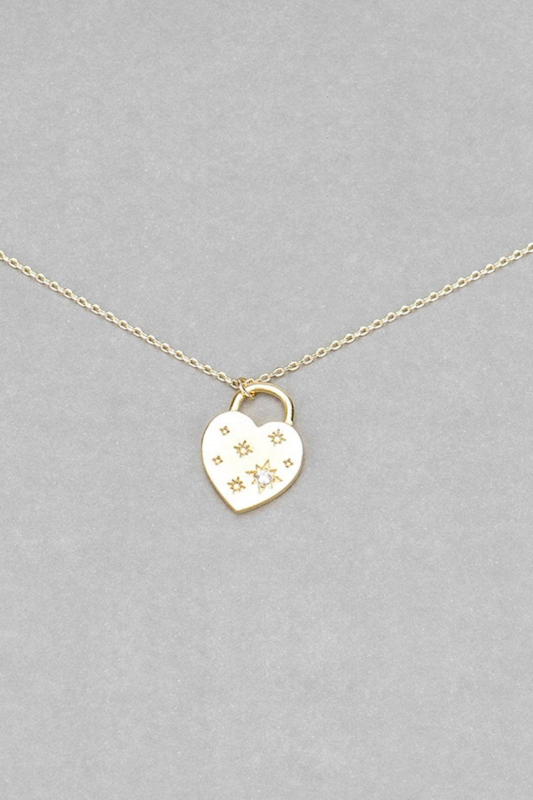 Wild Lilies Jewelry  Heart Pendant Necklace - Front Full Image