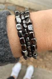 Wild Lilies Jewelry  Hematite Bracelet Set - Product Mini Image