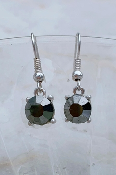 Wild Lilies Jewelry  Hematite Drop Earrings - Product List Image