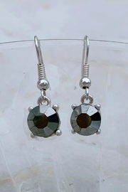 Wild Lilies Jewelry  Hematite Drop Earrings - Product Mini Image
