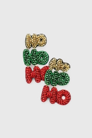 Wild Lilies Jewelry  Holiday Statement Earrings - Product Mini Image