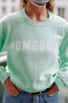 Wild Lilies Jewelry  Homebody Mint Sweater - Product List Image