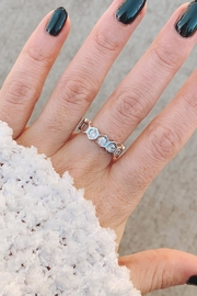 Wild Lilies Jewelry  Honeycomb Crystal Ring - Product Mini Image