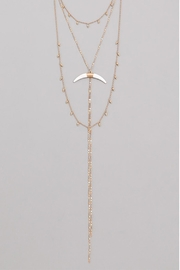 Wild Lilies Jewelry  Horn Lariat Necklace - Product Mini Image