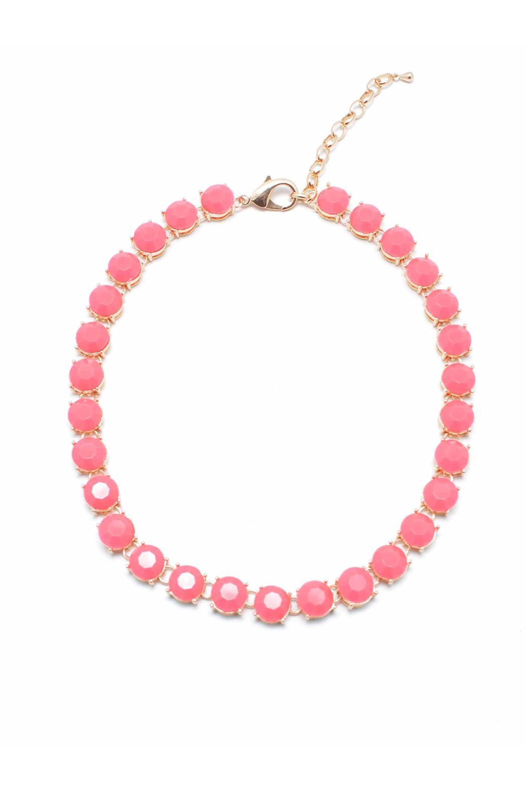 Wild Lilies Jewelry  Hot Pink Necklace - Main Image