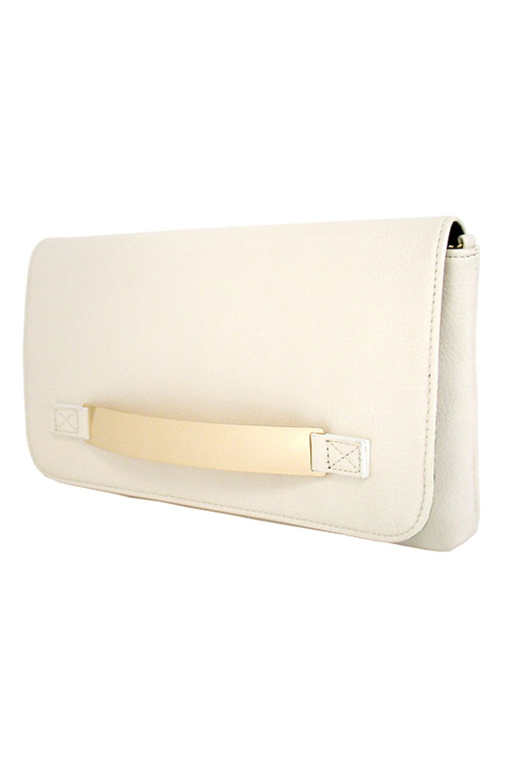 Wild Lilies Jewelry  Ivory Envelope Clutch - Front Full Image