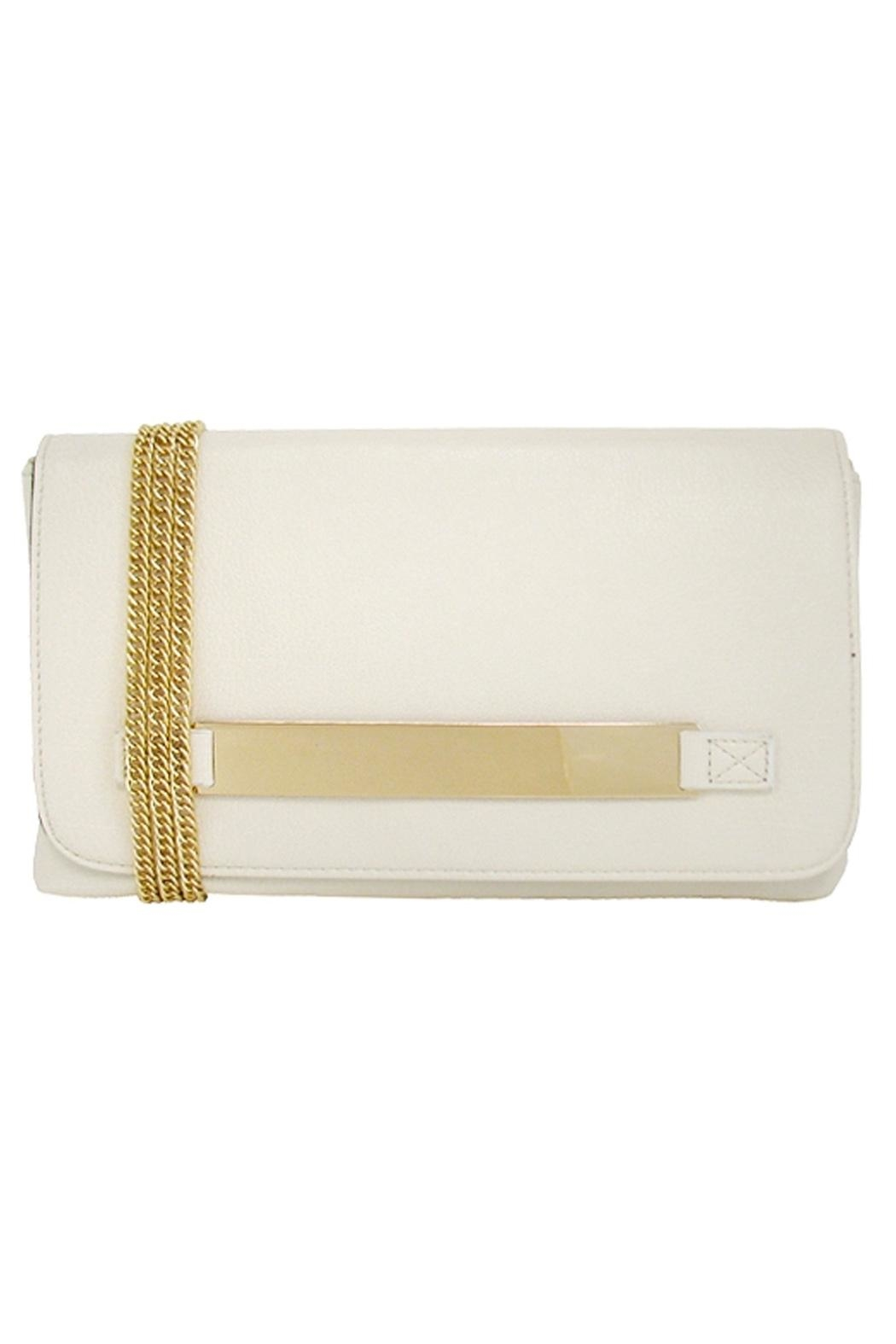 Wild Lilies Jewelry  Ivory Envelope Clutch - Main Image