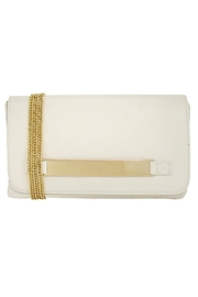 Wild Lilies Jewelry  Ivory Envelope Clutch - Front cropped