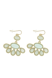 Wild Lilies Jewelry  Jewel Statement Earrings - Front cropped