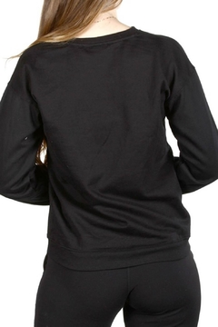 Wild Lilies Jewelry  Kiss Cutout Sweatshirt - Alternate List Image