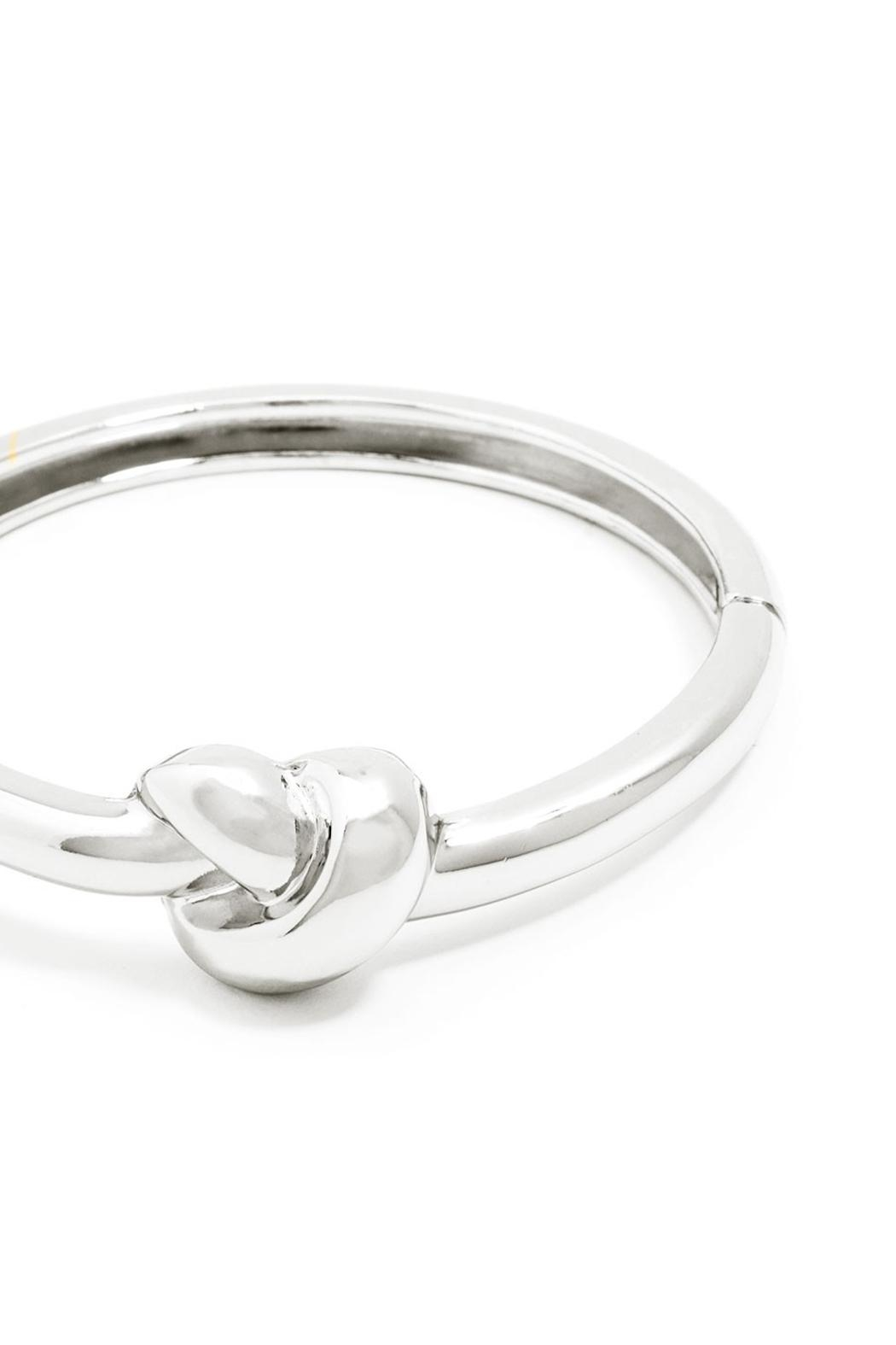 Wild Lilies Jewelry  Knot Bangle Bracelet - Front Full Image