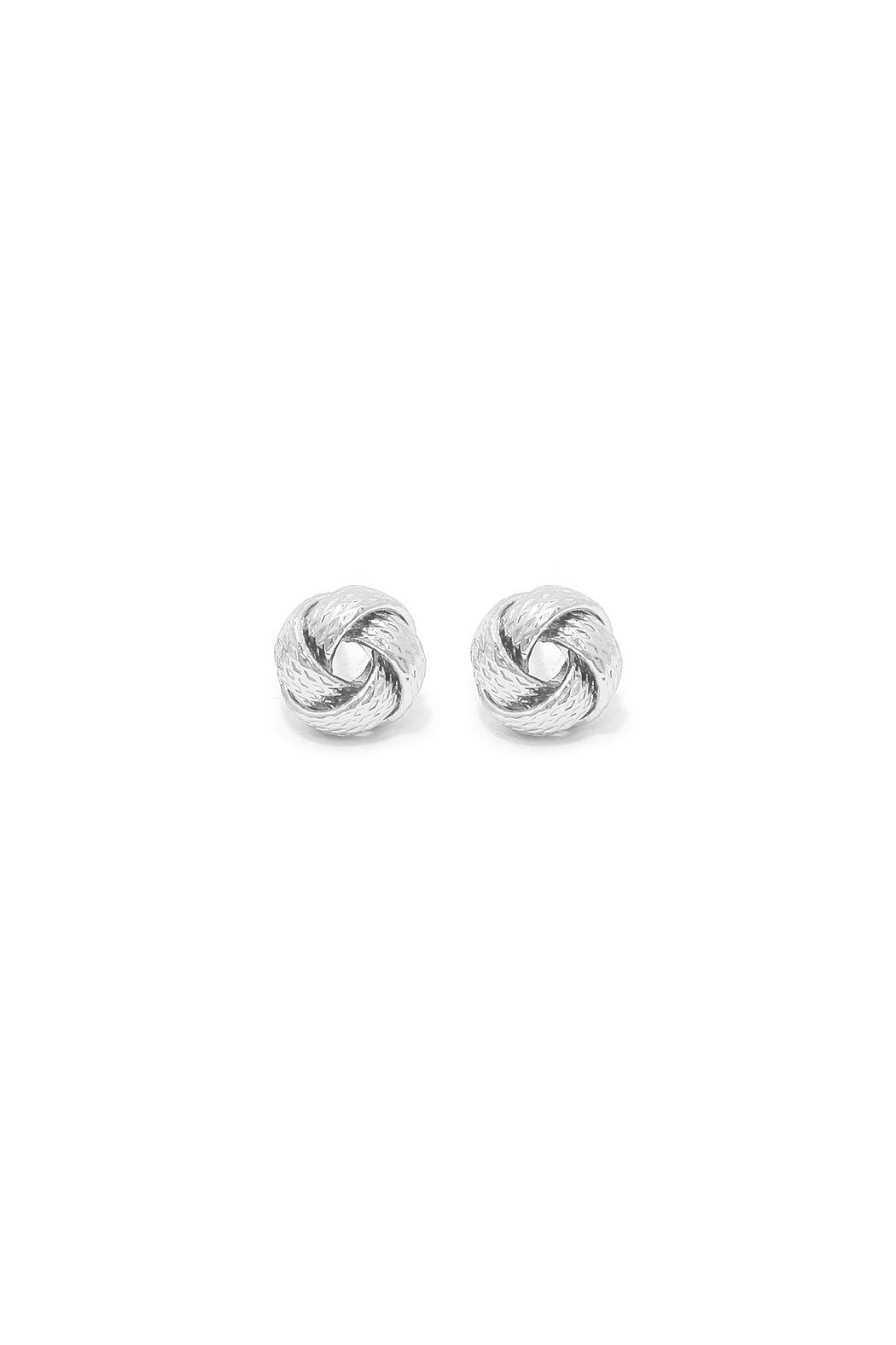 Wild Lilies Jewelry  Knot Stud Earrings - Main Image