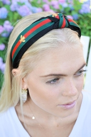 Wild Lilies Jewelry  Knotted Bee Headband - Front cropped